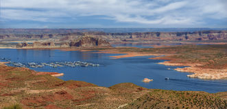 Glen Canyon Recreation Area Immagine Stock