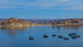 Glen Canyon Recreation Area Fotografie Stock
