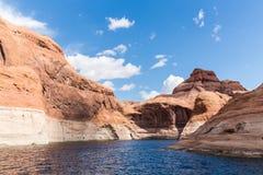Glen Canyon Recreation Area Imágenes de archivo libres de regalías