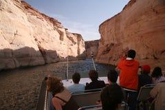 Glen Canyon sjö Powell, Arizona, USA royaltyfria bilder