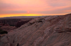 Glen Canyon Sunset Stock Photos