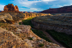 Glen Canyon at Sunset Stock Photo