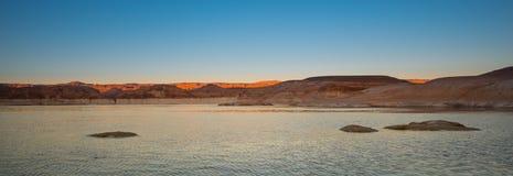 glen canyon w arizonie obszaru krajowego rekreacji jeziora Powell słońca Zdjęcie Royalty Free
