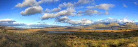 Glen Coe, altopiano, Scozia, Regno Unito immagini stock libere da diritti