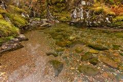 Glen Coe flod Fotografering för Bildbyråer