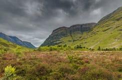 Glen Coe Highlands fotografia de stock royalty free