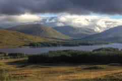 Glen Coe, Hochland, Schottland, Großbritannien stockbilder