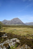 Glen coe pass scottish highlands landscape Royalty Free Stock Photos
