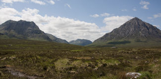 Glen Coe in the Scottish Highlands Stock Photo