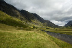 Glen Coe in the Scottish Highlands Stock Image