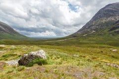 Glen Coe Skotska högländerna, Skottland, Förenade kungariket Arkivfoton