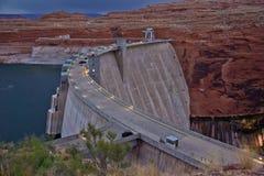 Glen Dam See Powell Arizona lizenzfreies stockfoto