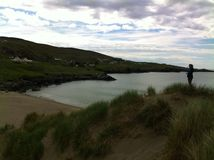 Glen dunes view. Glencollumbecille, Co Donegal, Ireland Royalty Free Stock Photography