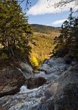 Glen Ellis Falls. New Hampshire at Glen Ellis falls in autumn Stock Photo