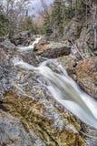 Glen Ellis Falls Trail stockbild