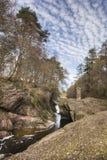 Glen Esk Gorge em Escócia fotos de stock royalty free