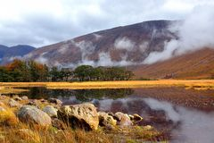 Glen Etive. Autumn in Glen Etive, Scotland, Highlands Royalty Free Stock Photo
