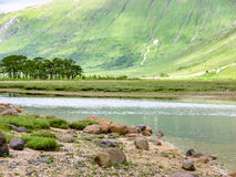 Glen Etive by Glencoe, Scotland Royalty Free Stock Photography