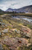 Glen Etive, Hidden Valley, Scotland, UK Stock Photos