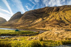 Glen Etive, Scottish Higland, Scotland Royalty Free Stock Images