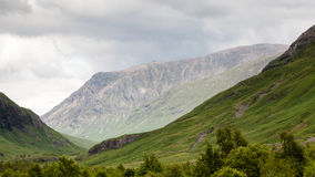 Glen Etive. A view from Glen Etive in the Scottish highlands Stock Photos