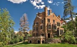 Glen Eyrie Castle στο Colorado Springs, Κολοράντο Στοκ Εικόνα