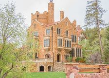 Glen Eyrie Castle Colorado Springs image stock