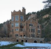 Glen Eyrie - engelska Tudor Style Castle i Colorado Springs, Colorado royaltyfria bilder