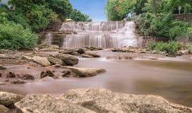 Glen Falls, Buffelsny royalty-vrije stock foto's