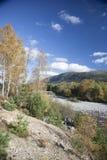 Glen Feshie en las montañas escocesas Imágenes de archivo libres de regalías