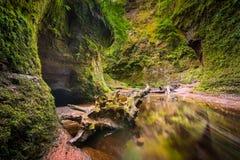 Glen Finnich em Escócia Fotos de Stock Royalty Free
