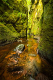 Glen Finnich in Scotland Royalty Free Stock Photography