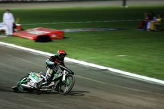 Glen Hancock from USA at speedway grand prix Stock Photo