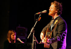 Glen Hansard and Marketa Irglova Stock Image