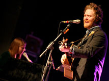 Glen Hansard and Marketa Irglova Stock Photos