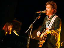 Glen Hansard and Marketa Irglova Royalty Free Stock Images