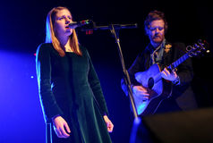 Glen Hansard and Marketa Irglova Royalty Free Stock Image