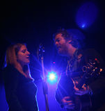 Glen Hansard and Marketa Irglova Stock Photo