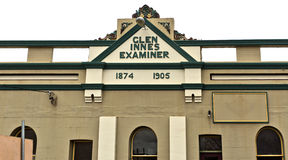 Glen Innes Heritage. Glen Innes is a town located in the heart of the New England High Country in NSW, Australia, and retains its federation style buildings Stock Photography