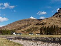 GLEN KINGLASS, SCOTLAND, MAY-09, 2015, Glenkinglass Lodge at the Stock Image