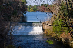 Glen Loch Dam in Chippewa Falls Royalty Free Stock Images