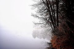 Glen Loch Fog Royalty-vrije Stock Foto's