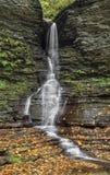 Glen Lower Falls excelsior immagine stock libera da diritti