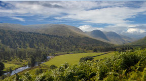 Glen Lyon. Is a valley in Perth and Kinross, Scotland Royalty Free Stock Image