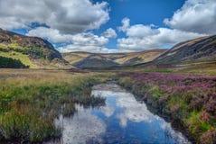 Glen Mark Scotland Reino Unido Imágenes de archivo libres de regalías