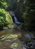 Glen Maye waterfall Stock Photo