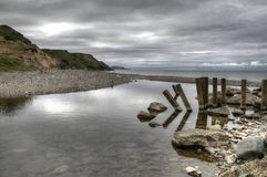 Glen Mooar Île de Man Images libres de droits