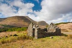 Glen More stone hut Stock Images