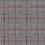 Glen Plaid pattern. Stock Photos