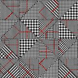 Glen Plaid pattern. royalty free illustration